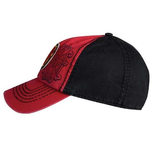 018a1459ec7 ... Arturo Fuente AF Opus X Logo Baseball Hat - Red and Black SIDE