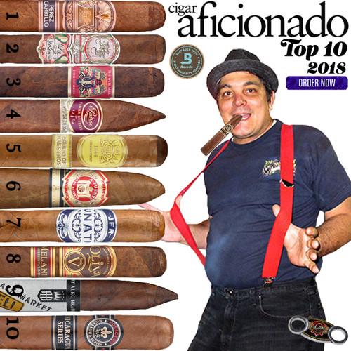 2018 Top 10 Cigars by Cigar Aficionado | Cuenca Cigars