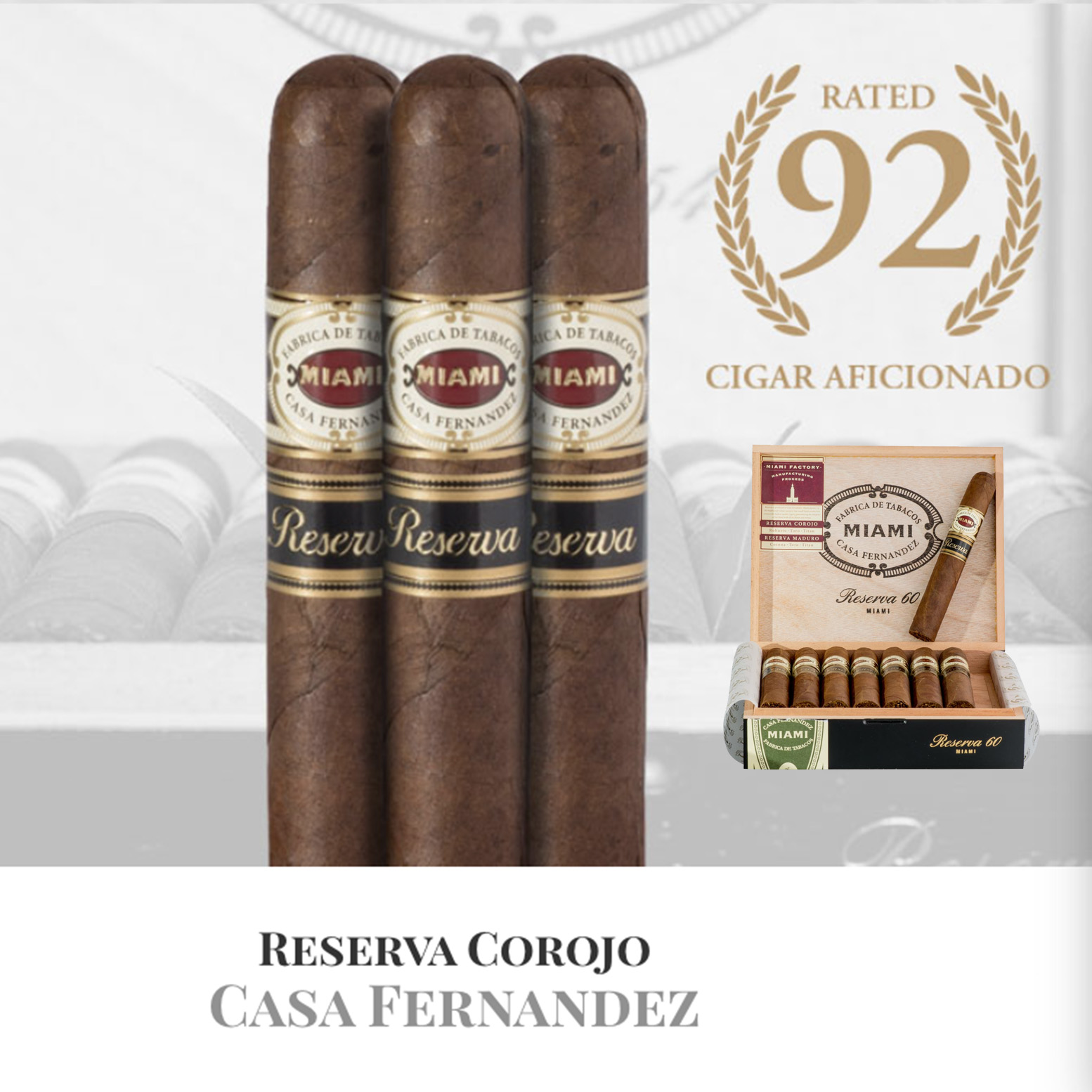 Aganorsa Leaf Signature Selection Maduro