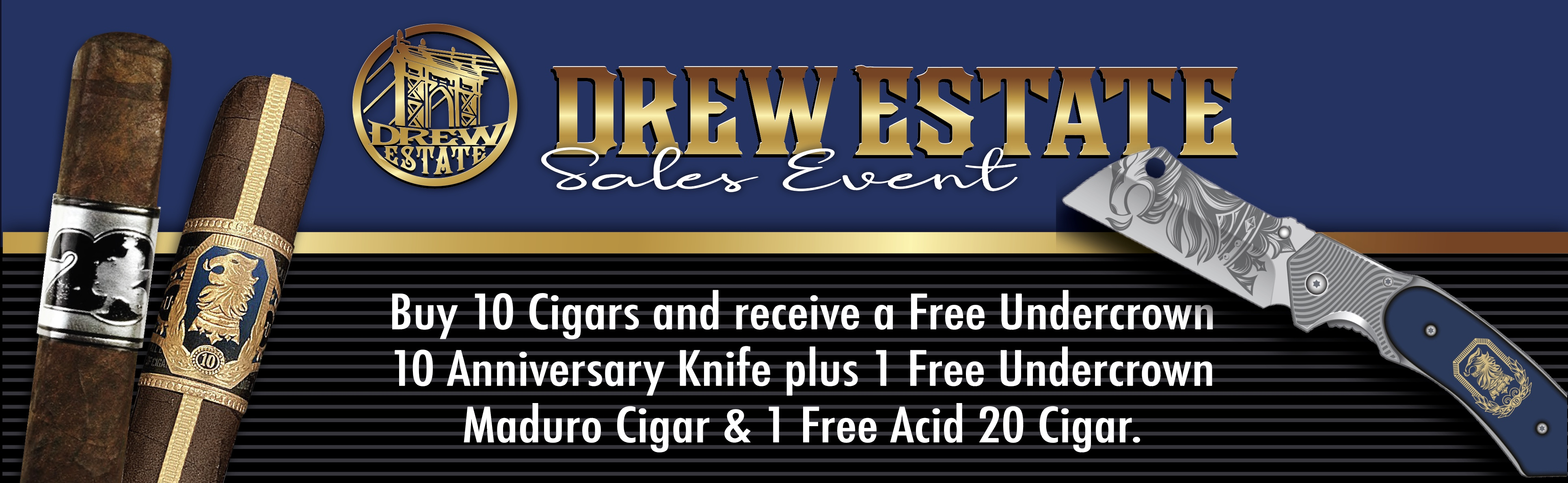 Buy 10 Cigars | get 1 UC 10 Mega Cigar Rest