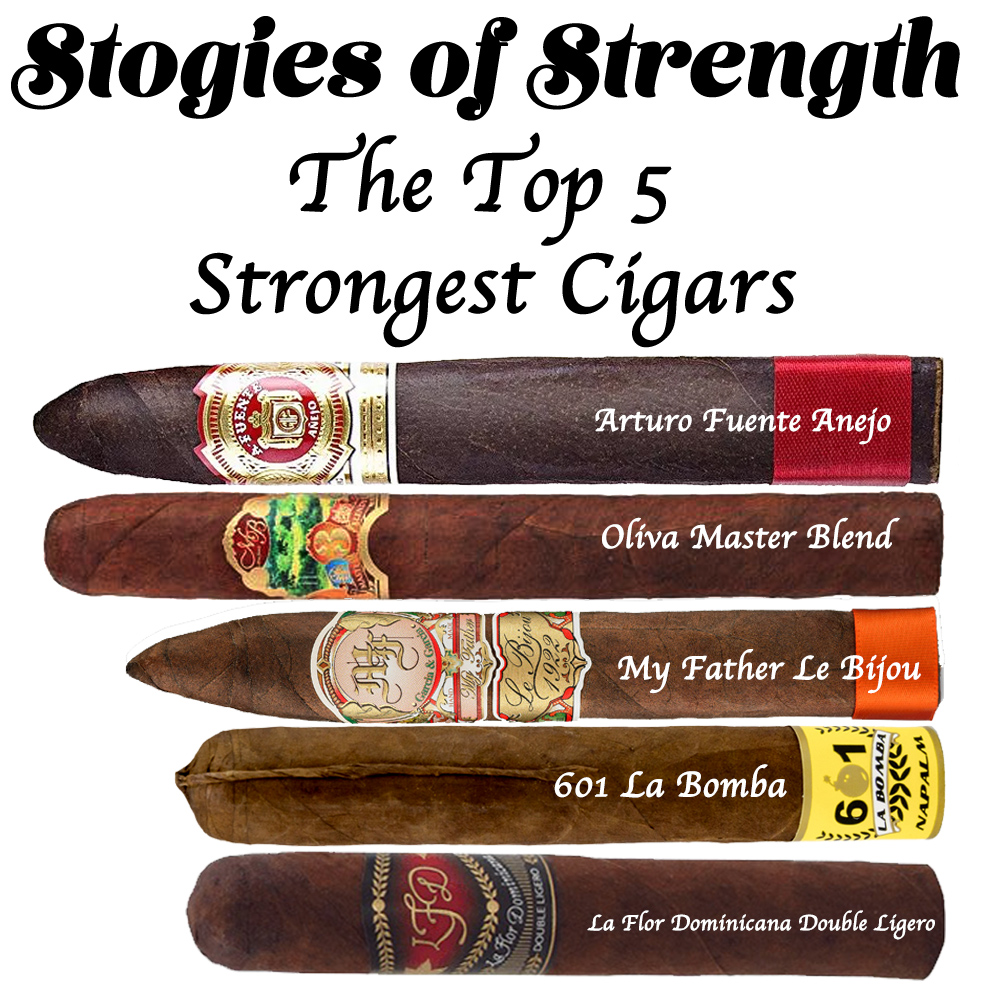 Stogies of Strength: The Top 5 Strongest Cigars - Cuenca