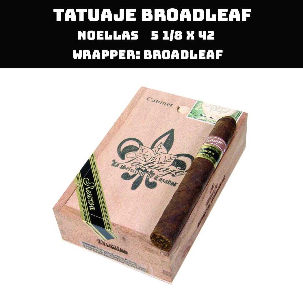 Tatuaje Broadleaf | Noellas