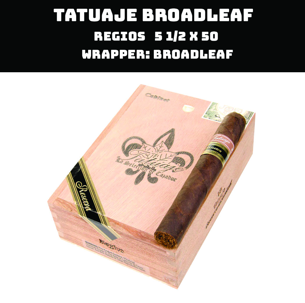 Tatuaje Broadlef | Regios