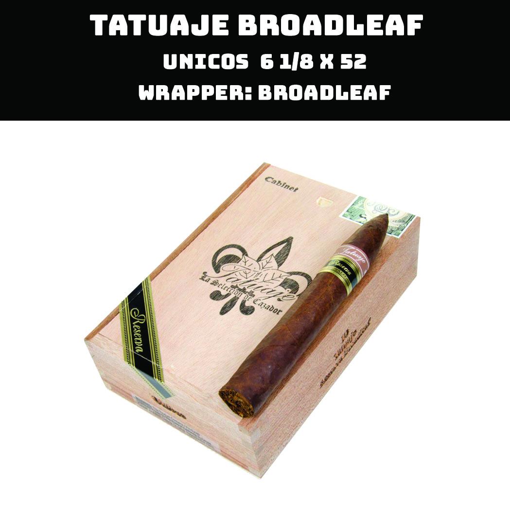 Tatuaje Broadleaf | Unicos