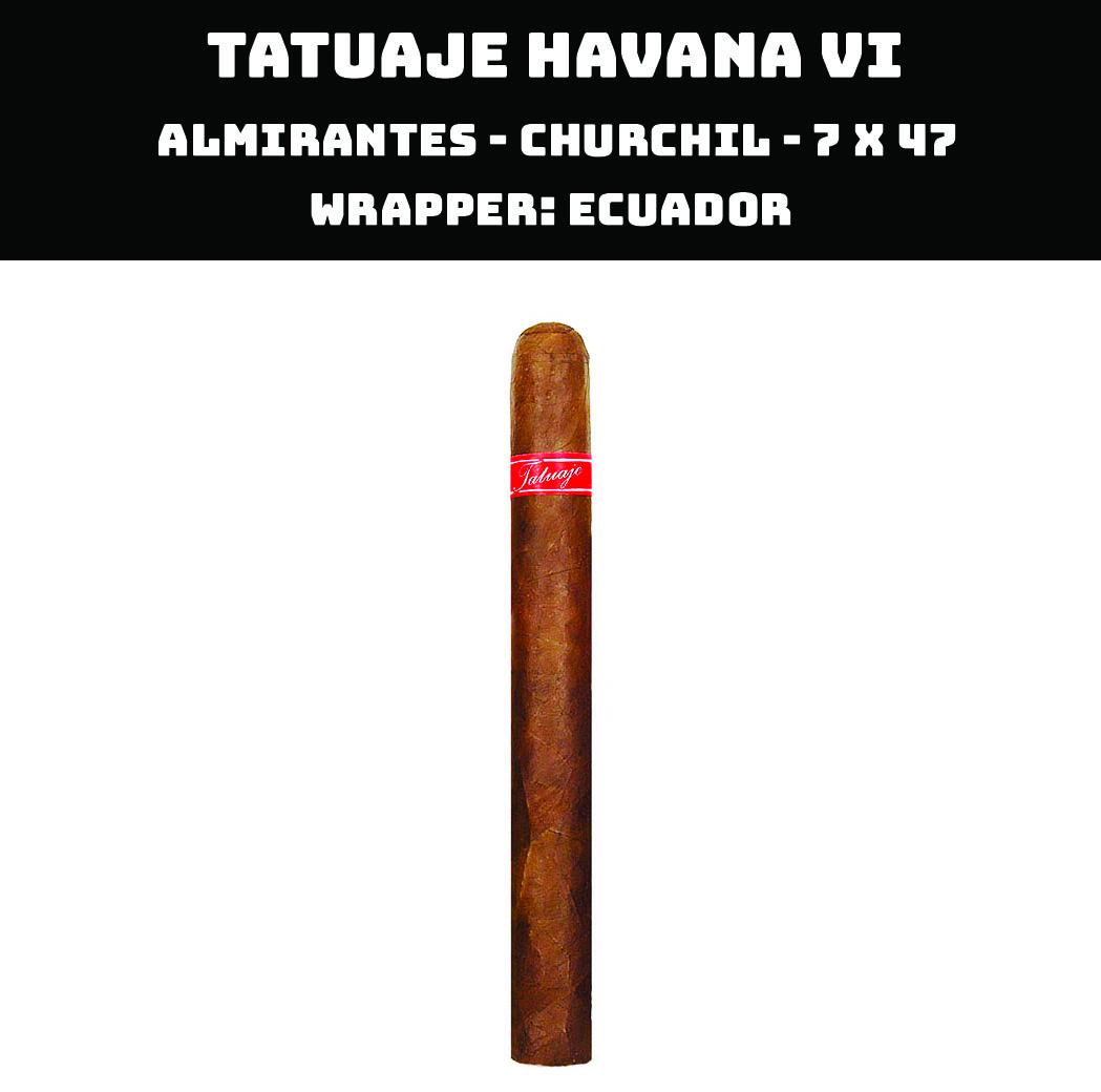 Tatuaje Havana VI | Almirantes
