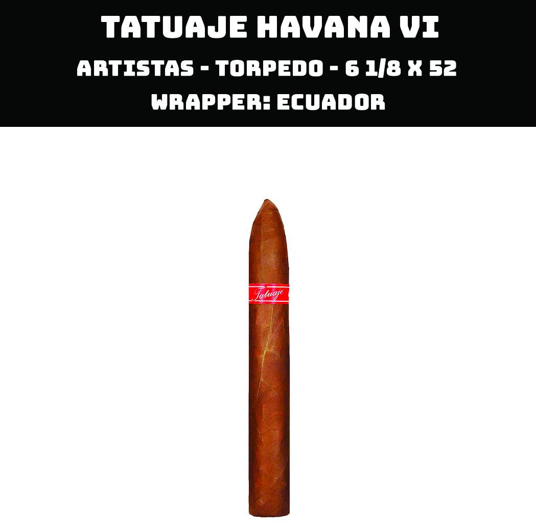 Tatuaje Havana VI | Artistas