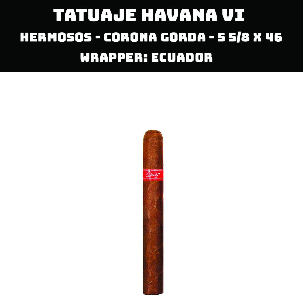 Tatuaje Havana VI | Hermosos