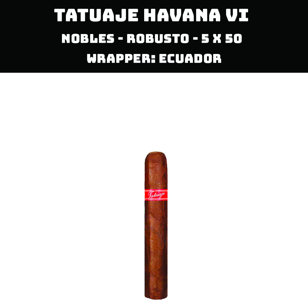 Tatuaje Havana VI | Nobles
