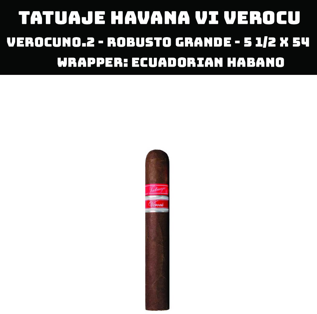 Tatuaje Havana VI Verocu | No 2