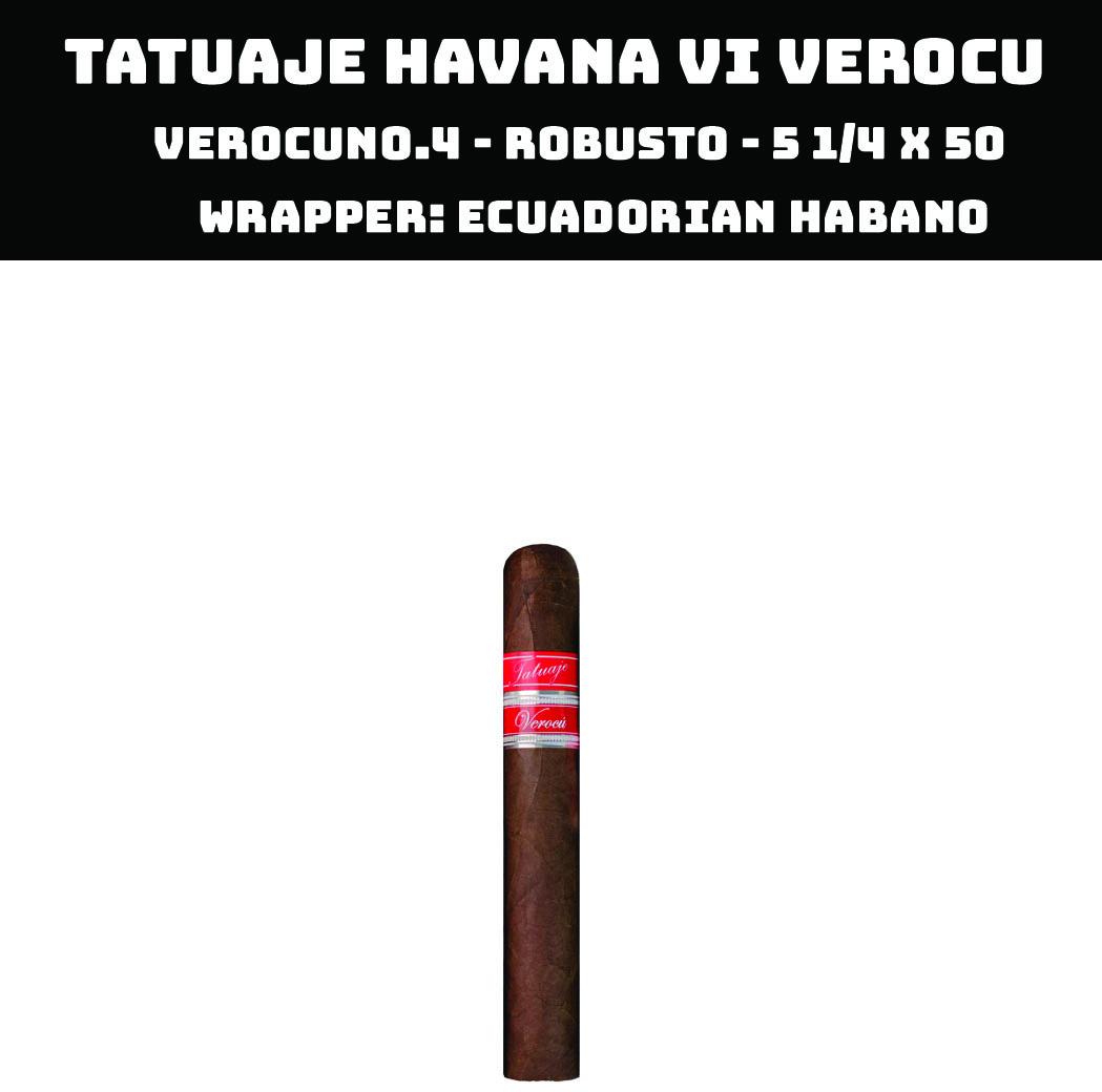 Tatuaje Havana VI Verocu | No 4