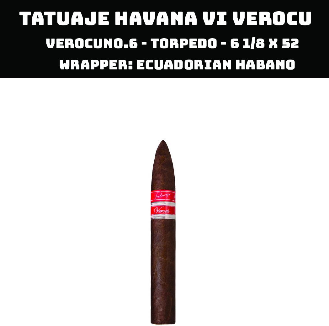 Tatuaje Havana VI Verocu | No 6