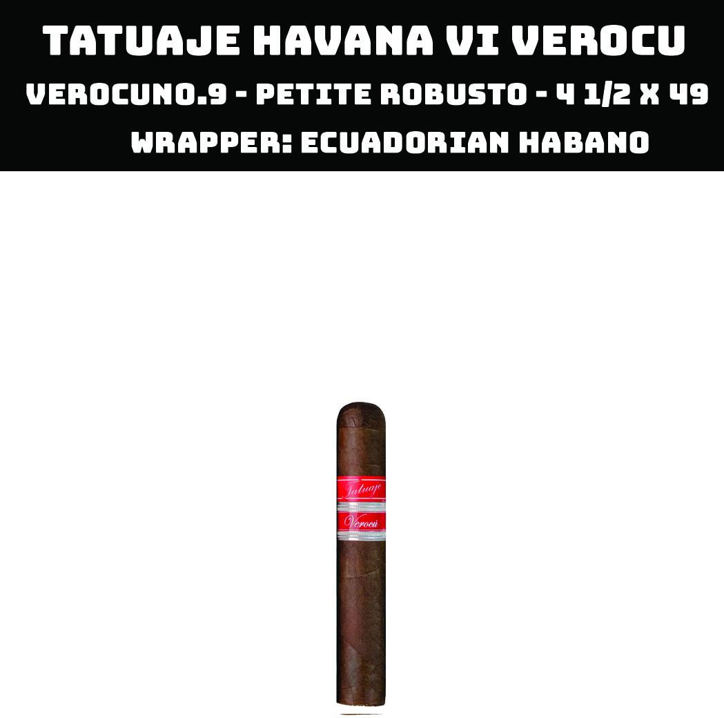 Tatuaje Havana VI Verocu | No 9