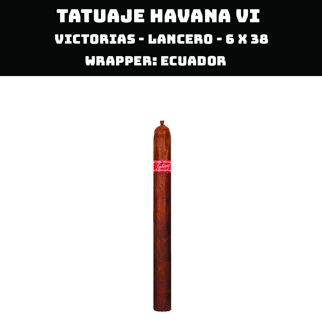 Tatuaje Havana VI | Victorias