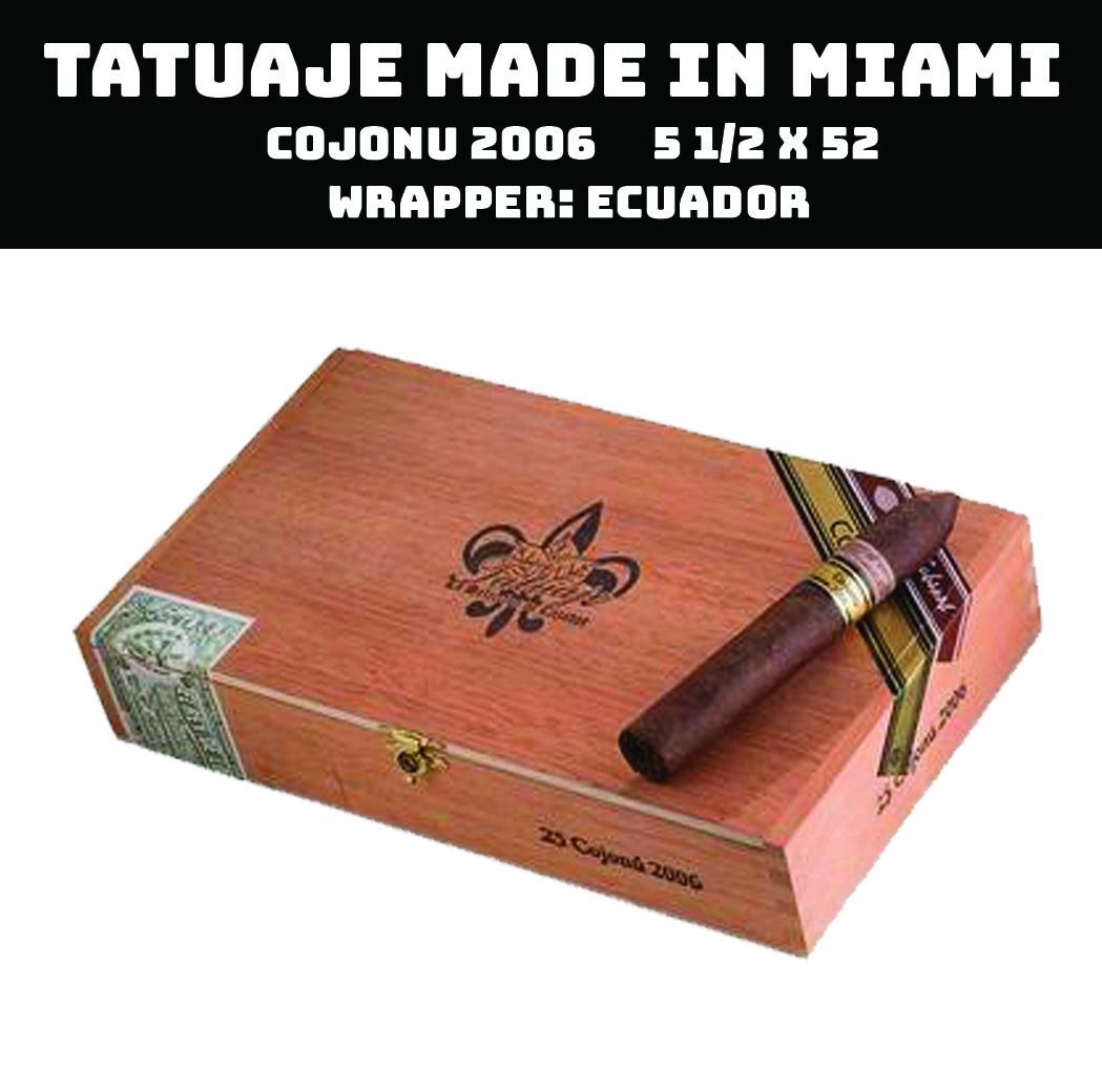 Tatuaje Miami | Cojonu 2006