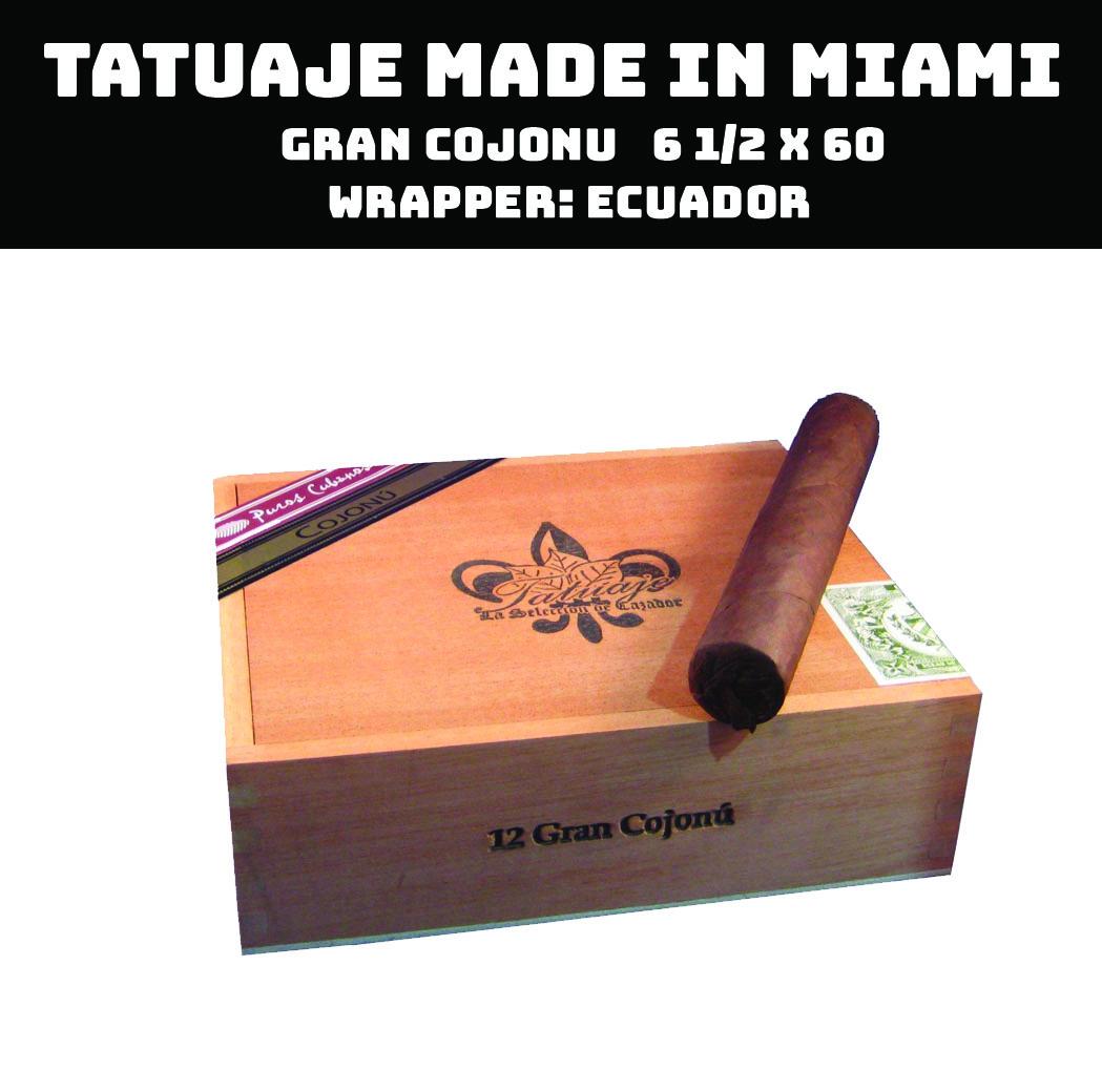 Tatuaje Miami | Gran Cojonu
