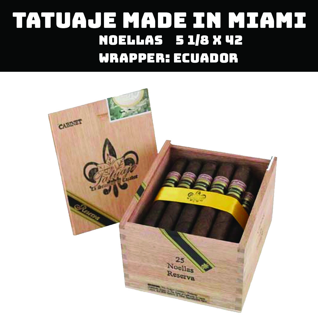 Tatuaje Miami | Noellas