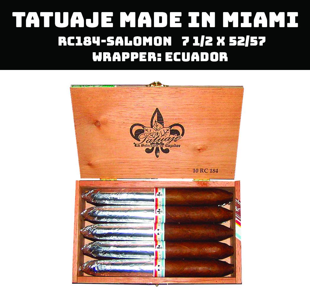 Tatuaje Miami | RC184 Salomon