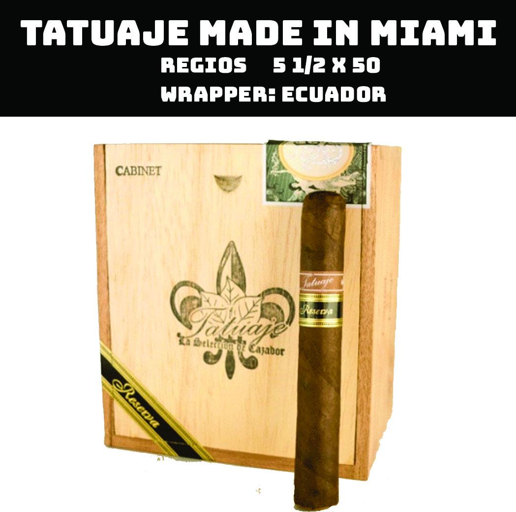 Tatuaje Miami | Regios