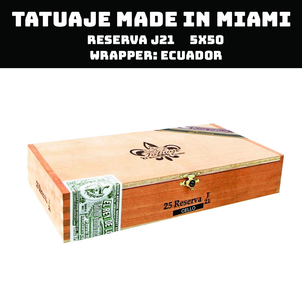 Tatuaje Miami | Reserva J21