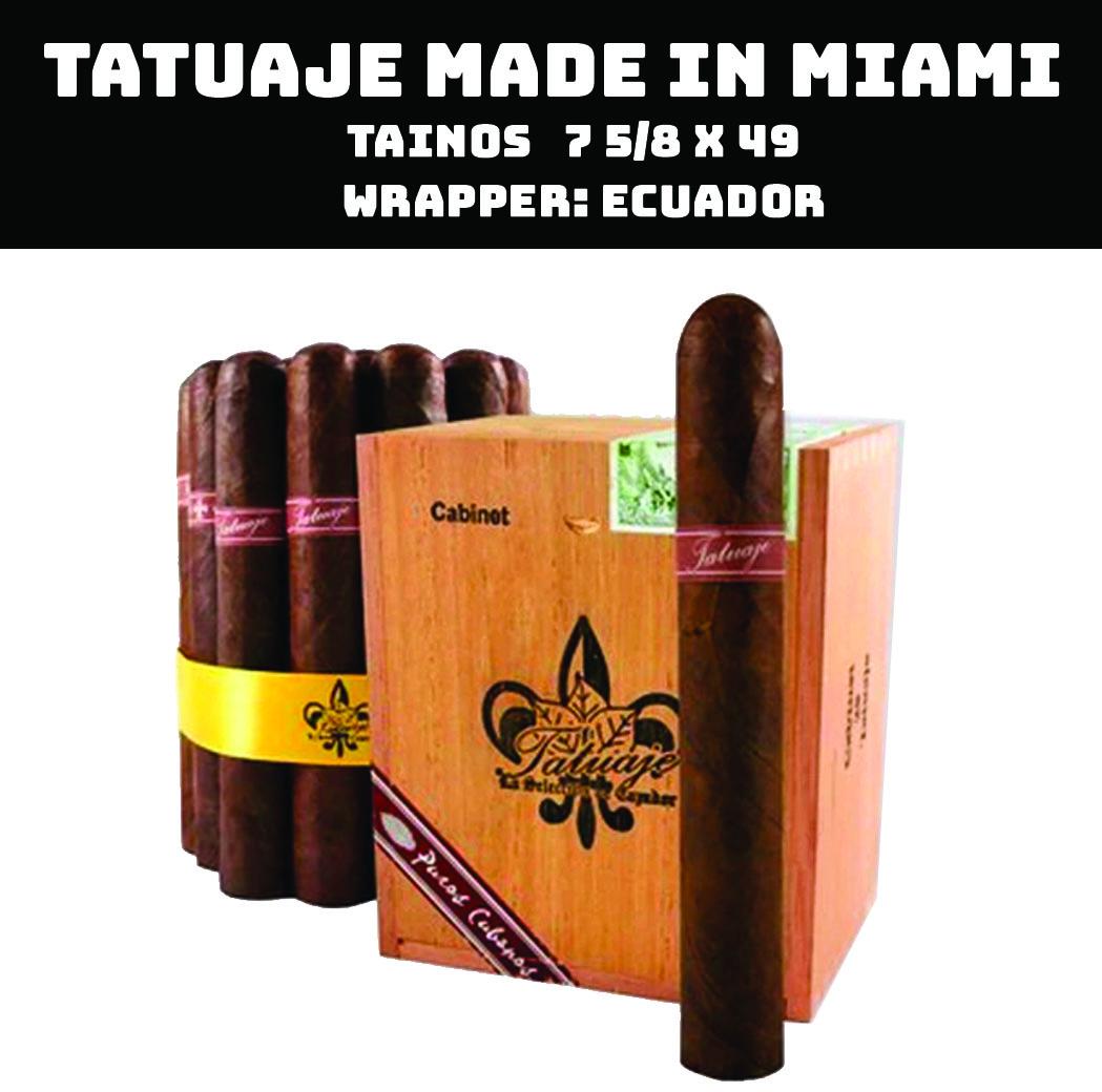 Tatuaje Miami | Tainos