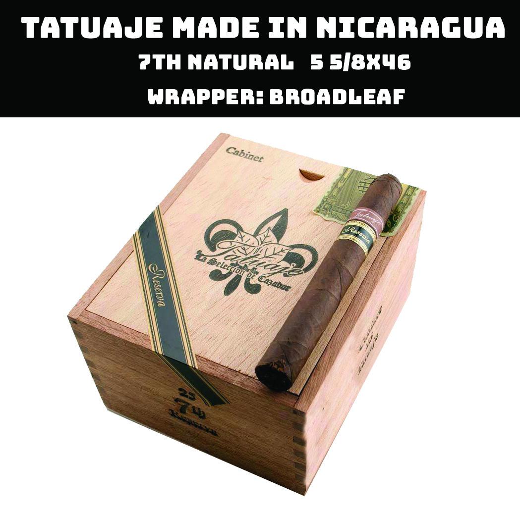Tatuaje Nicaragua | 7th Reserva Broadleaf