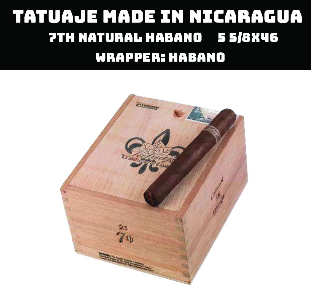 Tatuaje Nicaragua | 7th Natural Habano