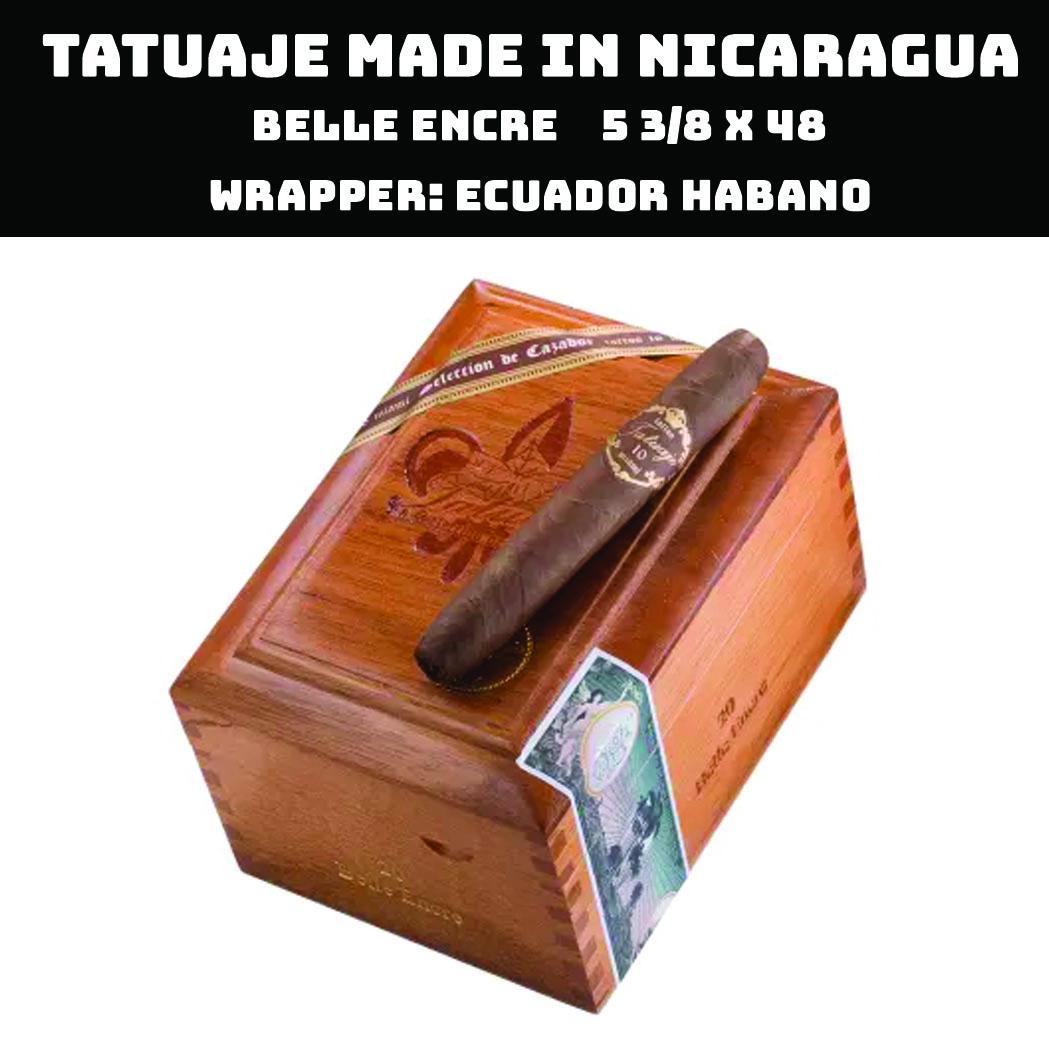 Tatuaje Nicaragua | 10th Belle Encre Perfecto