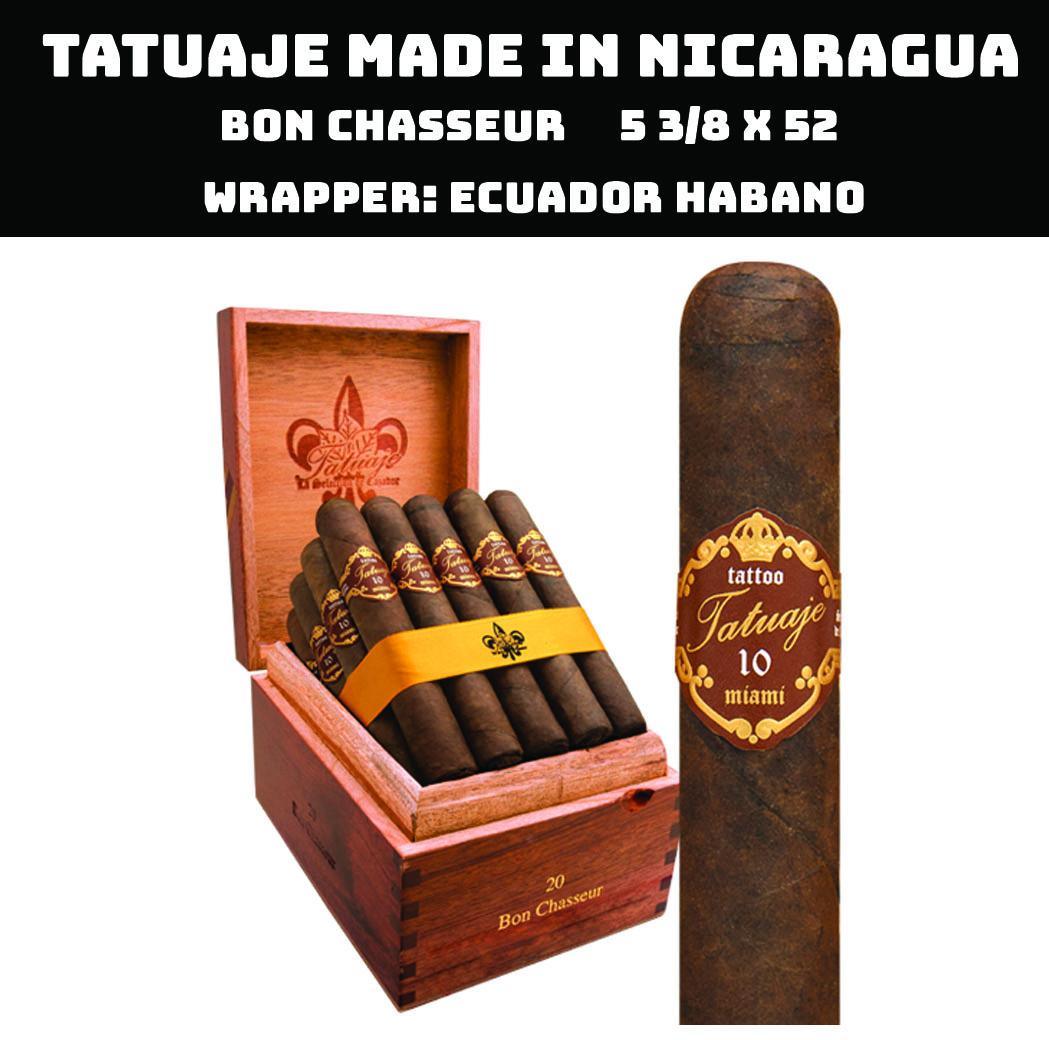 Tatuaje Nicaragua | 10th Bon Chasseur