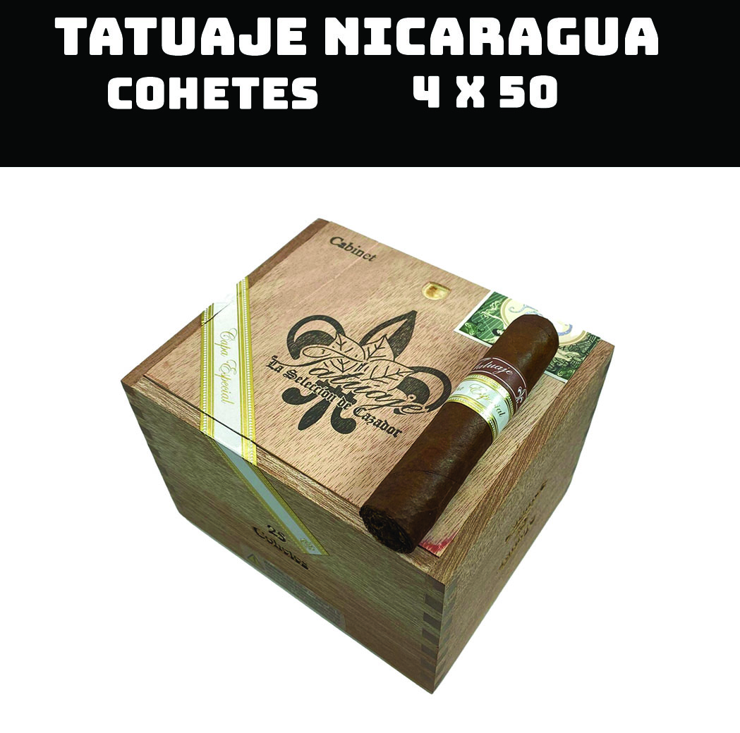 Tatuaje Nicaragua | Cohetes Sumatra