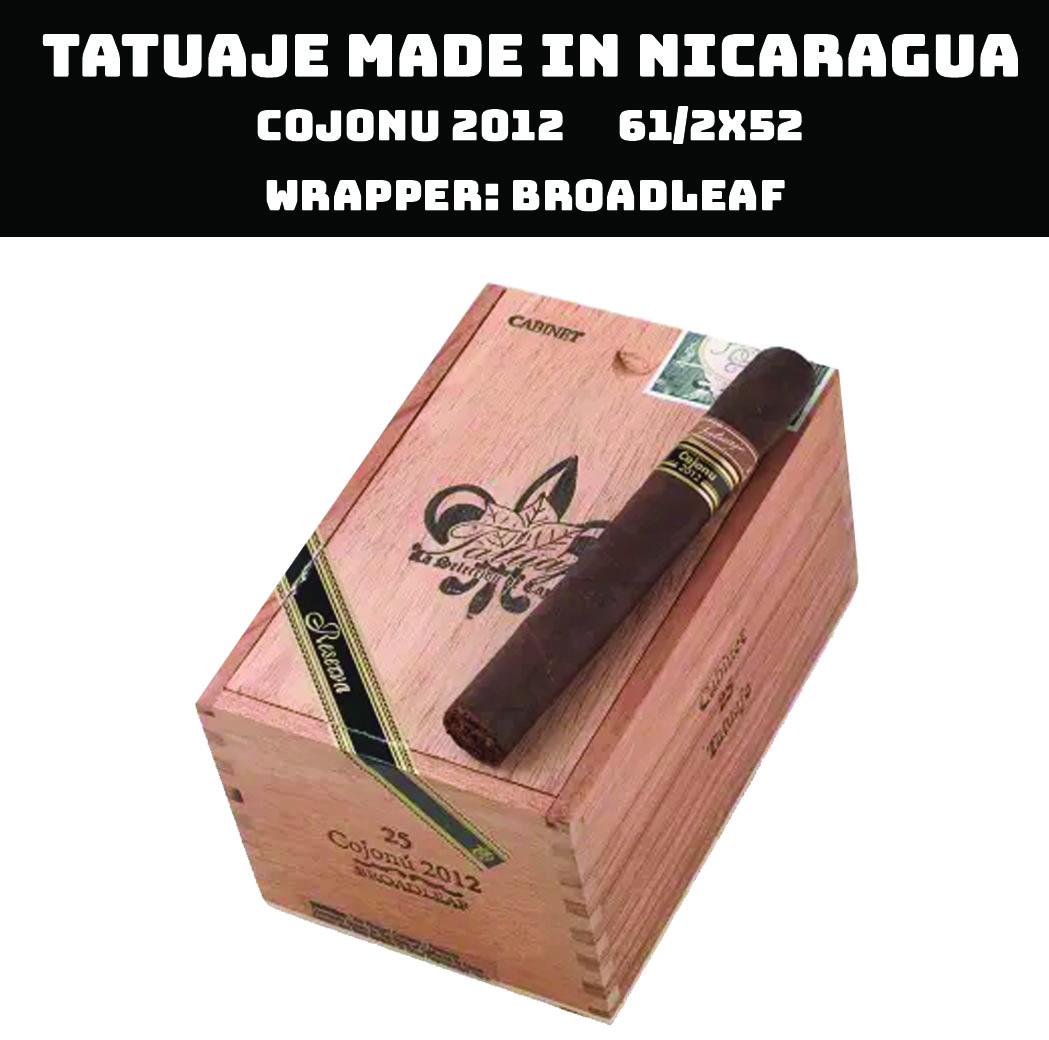 Tatuaje Nicaragua | Cojonu 2012 Broadleaf