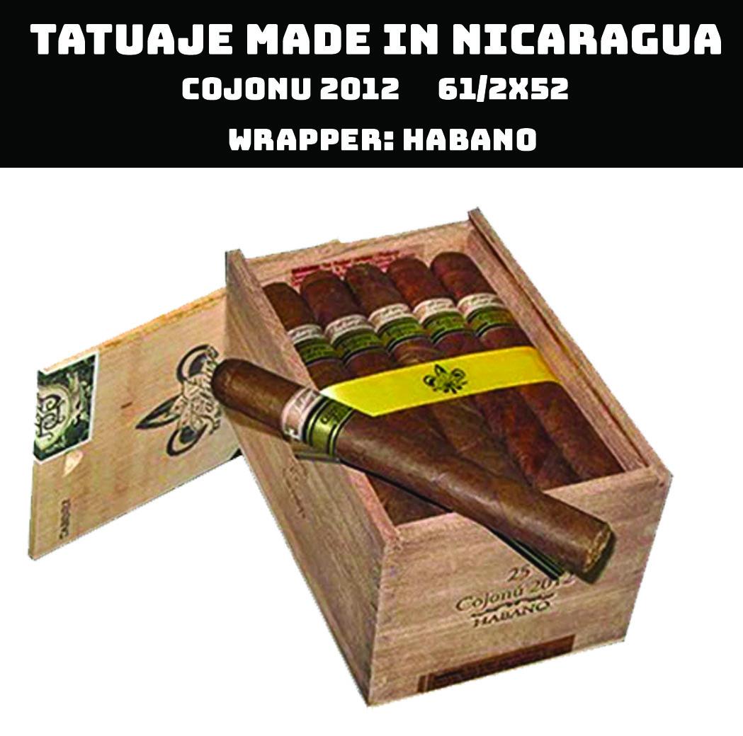 Tatuaje Nicaragua | Cojonu 2012 Habano