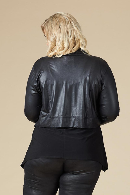 K-5002 LEATHER LOOK BLACK 001 OS