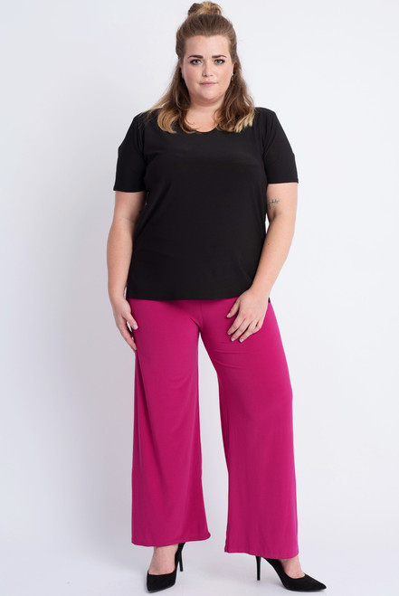D-03 - Trouser Basic-D. Fuchsia - 056