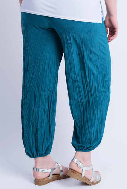 D-21 - Trouser Easy Crush- Petrol - 048