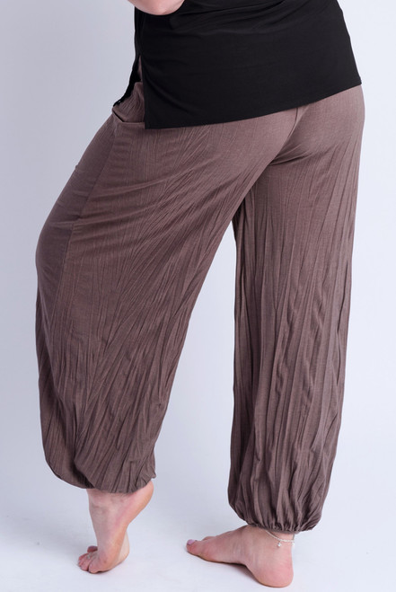 D-21 - Trouser Easy Crush- Taupe - 061