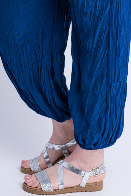 D-21 - Trouser Easy Crush-D COBALT - 060