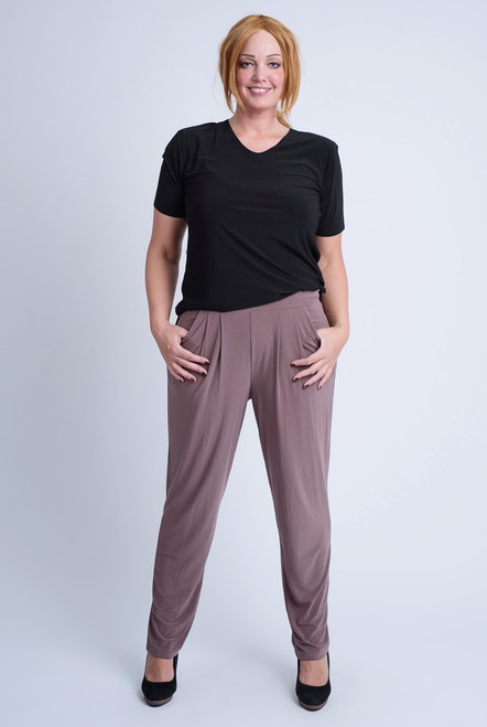 D-5001 TROUSER CLASSIC CHIC -Taupe - 061