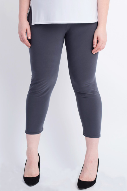 F-01 - LEGGING BASIC - D.GREY - 020