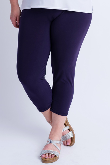 F-01 - Legging Basic -D.Purple - 059