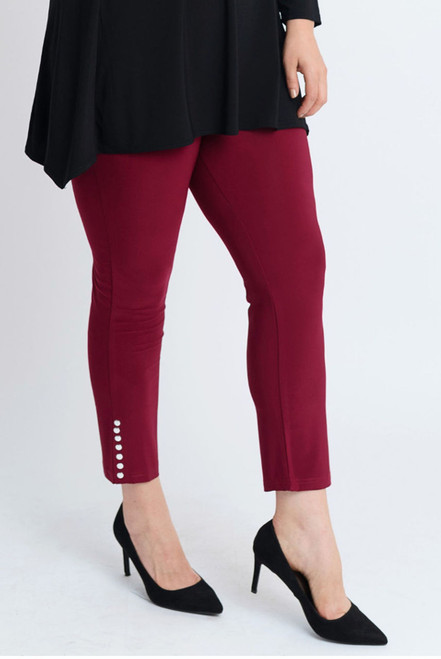 F-10 - Legging Motive Studs-Wine Red - 032