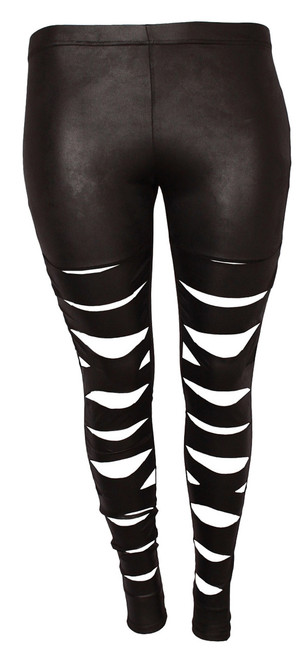 F-5005 - Leggings - LL - Black - 001
