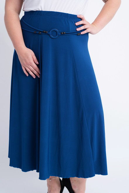 G-11 - Skirt Buckle-D. Cobalt - 060
