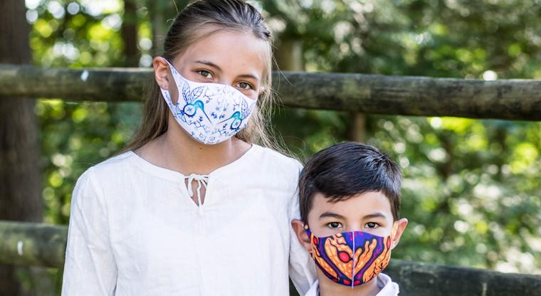 Microfiber Masks - Donald Chretien 3-pack Kids size