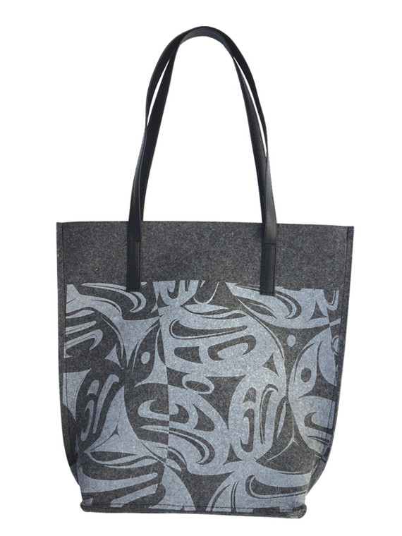 100% Wool Felt Tote Corrine Hunt Eagle