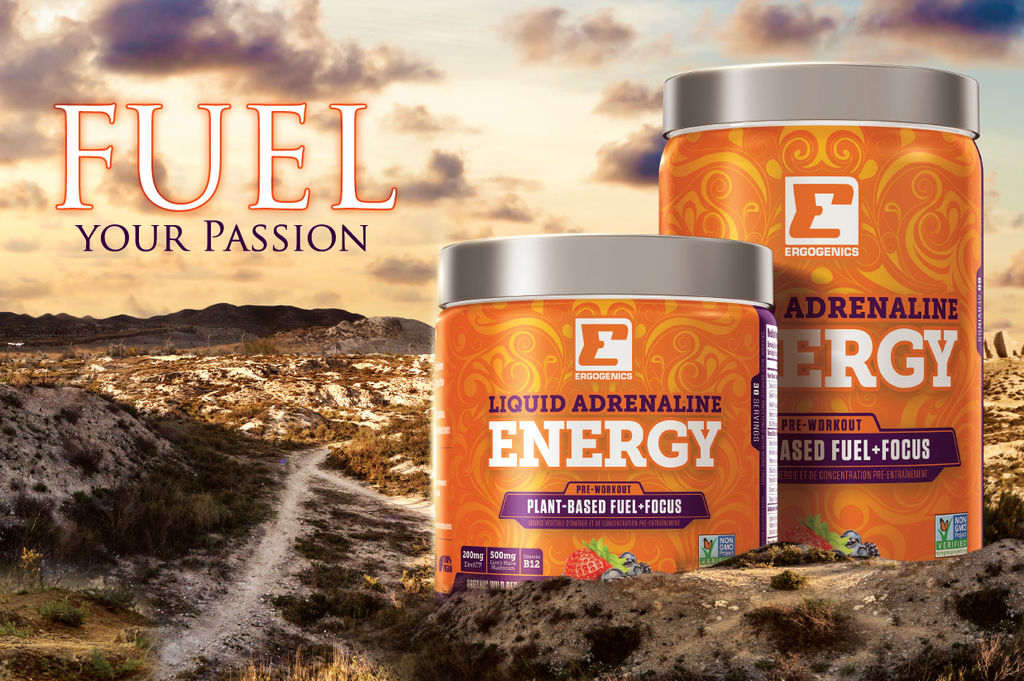 What's In Our Liquid Adrenaline Energy!