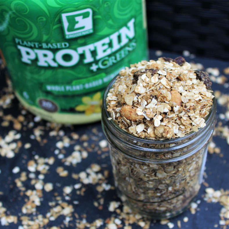 Vanilla Almond Protein Granola