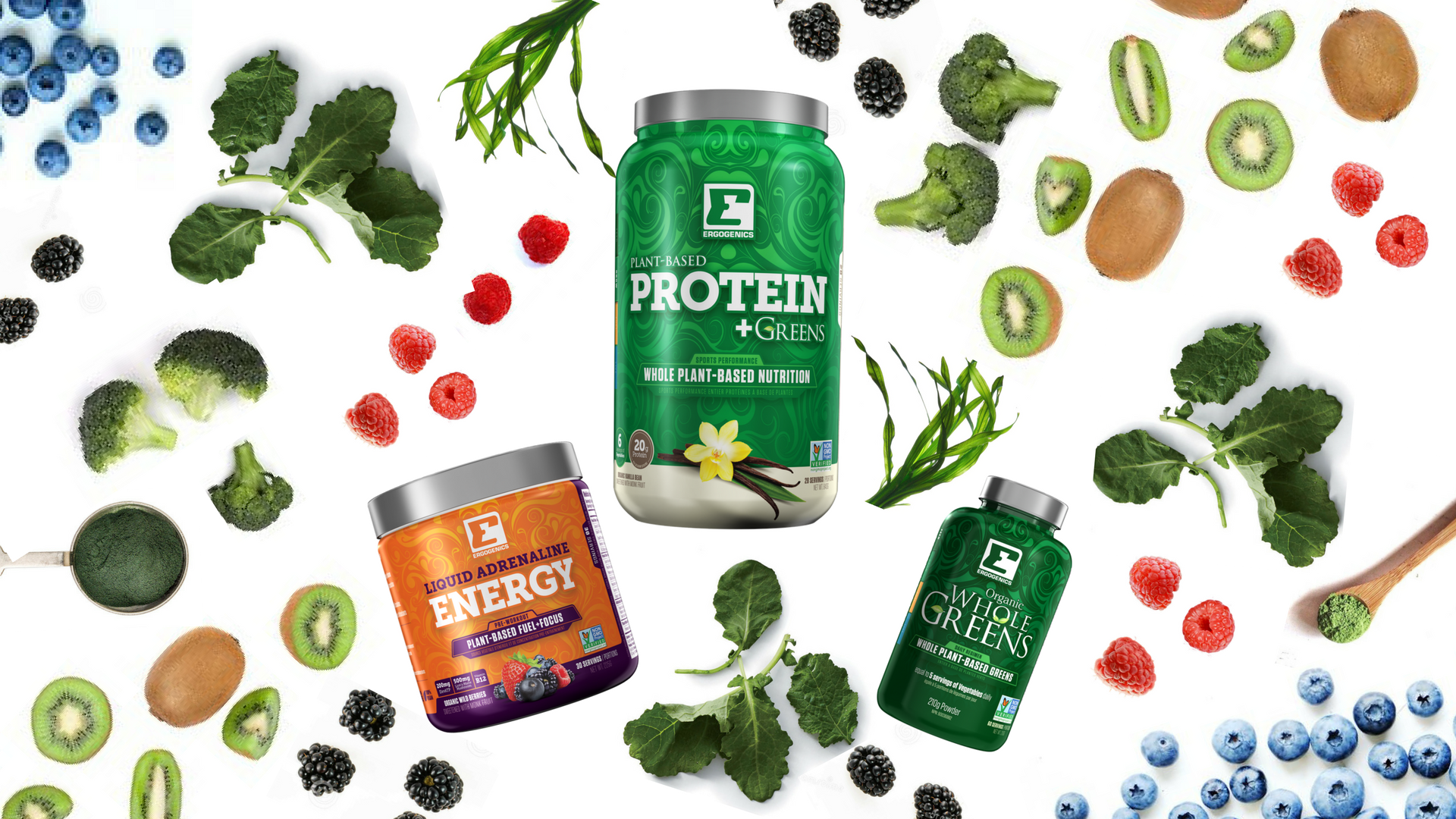 Ergogenics Goes 100% Plant Based