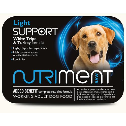 Nutriment Light Support RAW Dog Food at K9active. RAW Dog food supplier in Edinburgh, Fife, Glenrothes, Dunfermline, Kirkclady