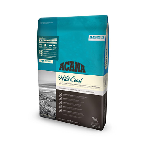 Acana Classics Wild Coast Dog Food at K9active