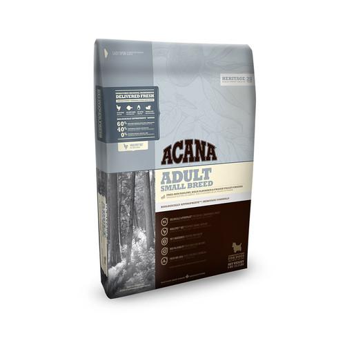 Acana Heritage Adult Small breed dog food available at K9active Dunfermline, Edinburgh, Fife